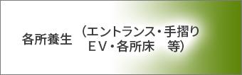 所養生(エントランス・手摺り・EV・各所床 等)